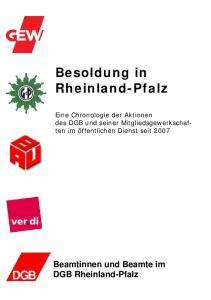 Besoldung in Rheinland-Pfalz