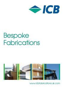 Bespoke Fabrications