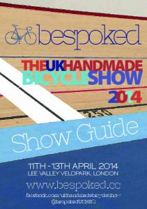 bespoked Show Guide BICYCLESHOW  11th -13th April 2014