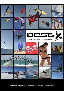 BEST KITEBOARDING USERS MANUAL