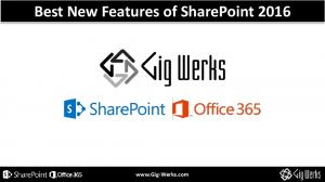 Best New Features of SharePoint