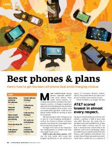 Best phones & plans. Here s how to get the best cell-phone deal amid changing choices