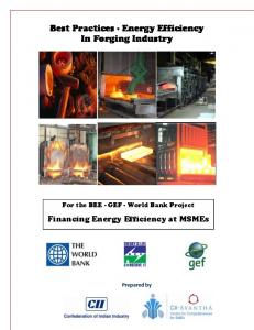 Best Practices - Energy Efficiency In Forging Industry