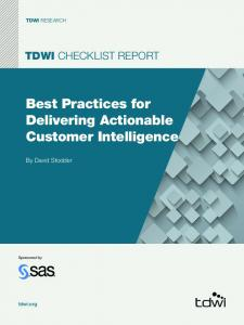 Best Practices for Delivering Actionable Customer Intelligence