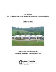 Best Practices For Environmental Protection in the Mushroom Farm Community