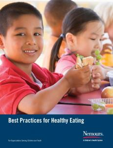 Best Practices for Healthy Eating