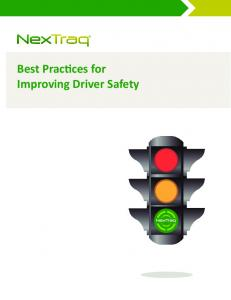 Best Practices for Improving Driver Safety