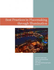 Best Practices in Placemaking through Illumination