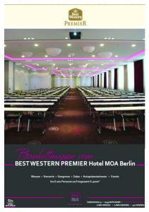 BEST WESTERN PREMIER Hotel MOA Berlin Convention Center