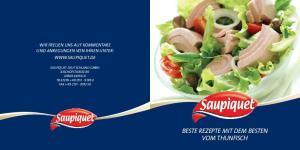 Beste Rezepte mit dem Besten vom Thunfisch