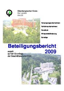 Beteiligungsbericht 2009