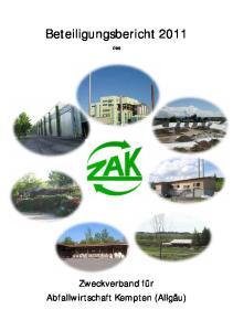 Beteiligungsbericht 2011