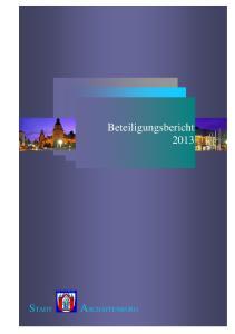 Beteiligungsbericht 2013