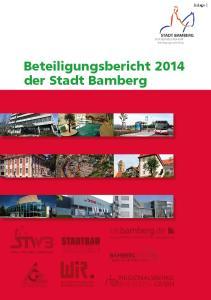 Beteiligungsbericht 2014 der Stadt Bamberg
