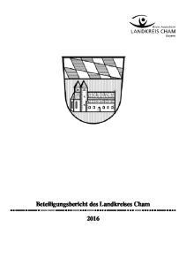 Beteiligungsbericht des Landkreises Cham