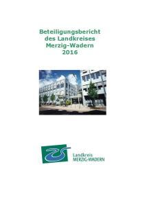 Beteiligungsbericht des Landkreises Merzig-Wadern