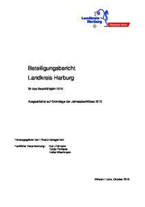 Beteiligungsbericht Landkreis Harburg