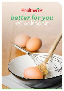 better for you ecookbook