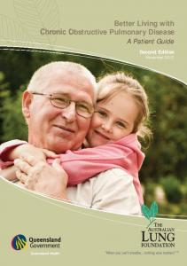 Better Living with Obstructive Pulmonary Disease A Patient Guide