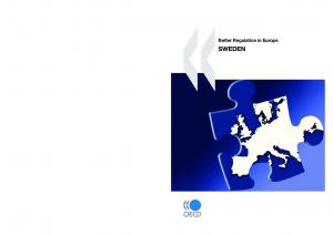 Better Regulation in Europe SWEDEN