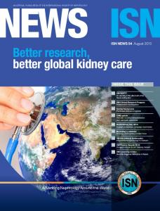 Better research, better global kidney care