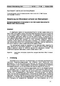Bewertung von Strandseen anhand von Makrophyten