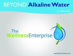 BEYOND Alkaline Water