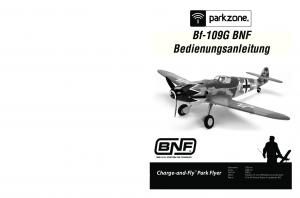 Bf-109G BNF. Bf-109G BNF. Charge-and-Fly Park Flyer