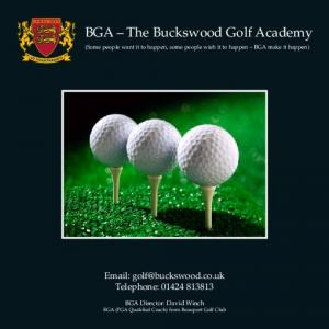 BGA The Buckswood Golf Academy