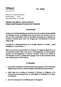 BGB 874, 1018, 1090 Abs. 1; WEG 15; GBO 53 Schlagwortartige Eintragung des Wesenskerns einer Dienstbarkeit. I. Zum Sachverhalt