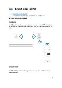 BGH Smart Control Kit