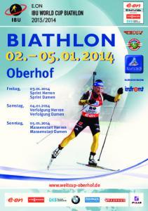 BIATHLON Oberhof.  Freitag, Sprint Herren Sprint Damen
