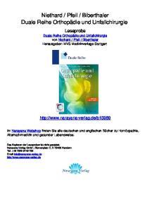 Biberthaler Duale Reihe Orthopädie und Unfallchirurgie