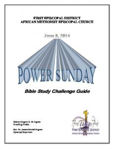Bible Study Challenge Guide