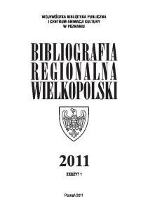 BIBLIOGRAFIA REGIONALNA WIELKOPOLSKI