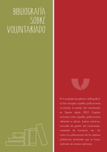 Bibliografia sobre voluntariado
