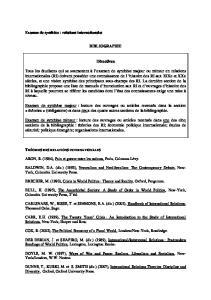 BIBLIOGRAPHIE. Directives