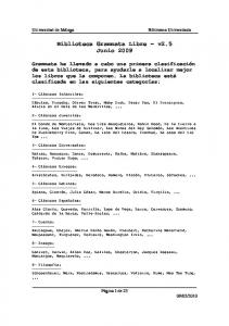 Biblioteca Grammata Libre v2.5 Junio 2009
