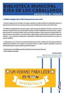 BIBLIOTECA MUNICIPAL EJEA DE LOS CABALLEROS