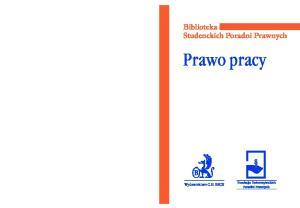 Biblioteka Studenckich Poradni Prawnych. Prawo pracy. Wydawnictwo C.H. BECK