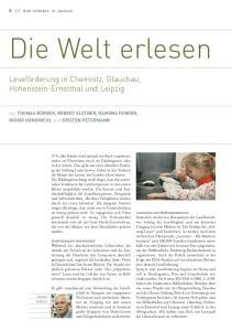 Bibliotheken in Sachsen