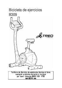 Bicicleta de ejercicios B309