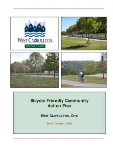 Bicycle Friendly Community Action Plan