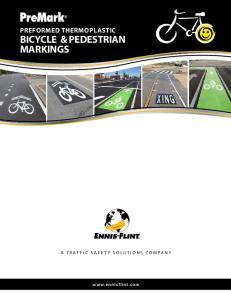 BICYCLE & PEDESTRIAN MARKINGS