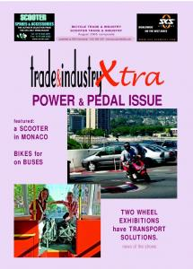 BICYCLE TRADE & INDUSTRY SCOOTER TRADE & INDUSTRY