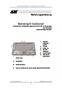 Bienengift Collector