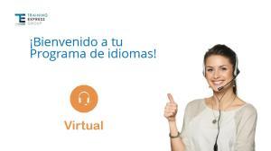Bienvenido a tu. Programa de idiomas! Virtual