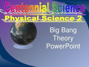 Big Bang Theory PowerPoint
