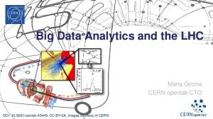 Big Data Analytics and the LHC