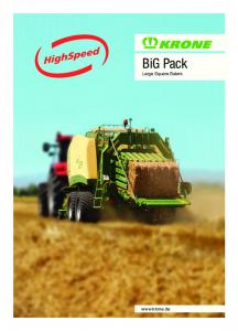BiG Pack Large Square Balers